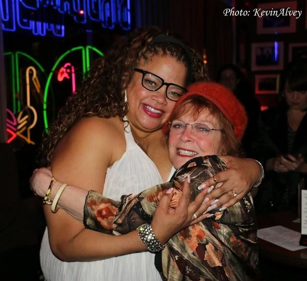 Natalie Douglas and Anita Gillette