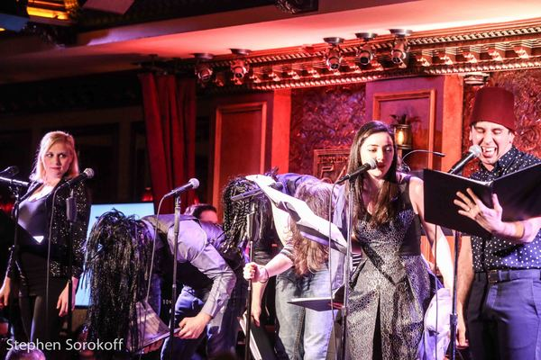 Photo Coverage: THE WHOLE MEGILLAH Plays Feinstein's/54 Below