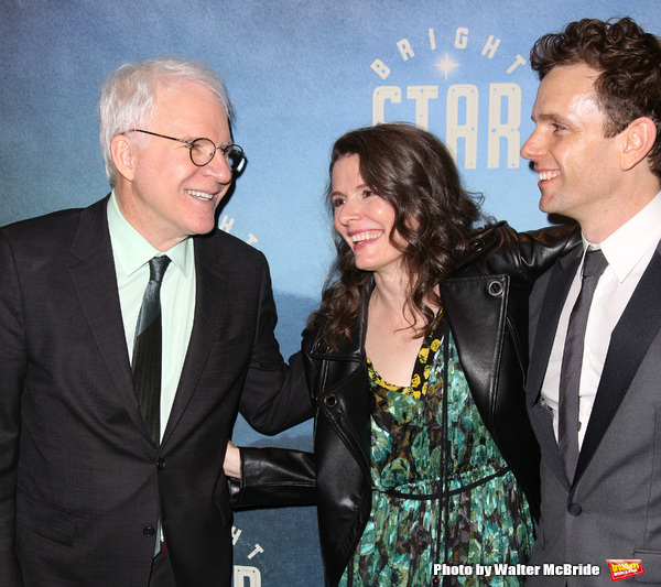 Steve Martin, Edie Brickell and Paul Nolan