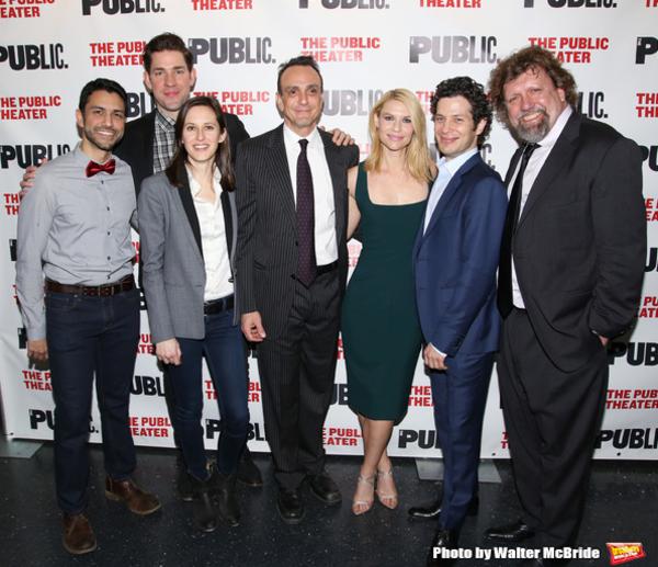 Sanjit De Silva, John Krasinski, Sarah Burgess, Hank Azaria, Claire Danes,  Thomas Ka Photo