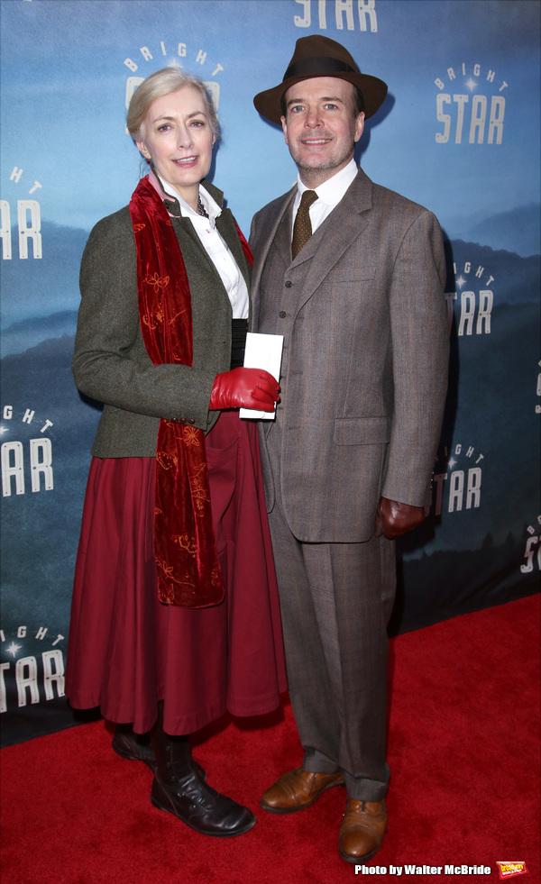 Susan Lyons and Jefferson Mays Photo