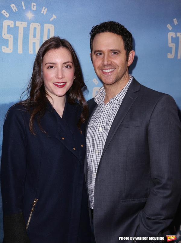 Jessica Hershberg Fontana and Santino Fontana