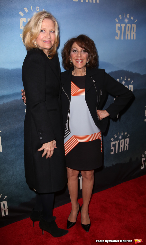 Diane Sawyer and Andrea Martin