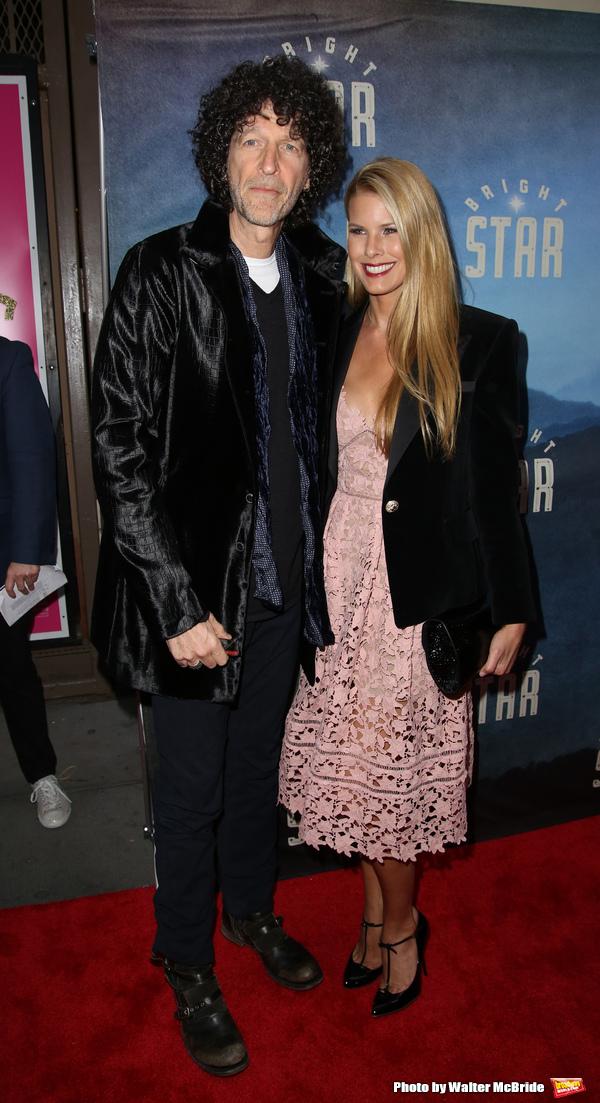 Howard Stern and Beth Stern