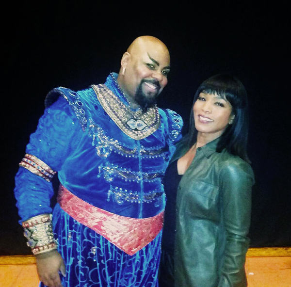 ALADDIN''s James Monroe Iglehart with Angela Bassett