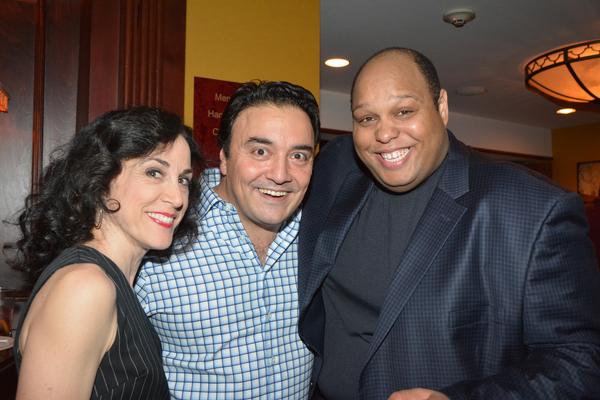 Kathryn Markey, Tony Chiofalo and Arthur L. Ross