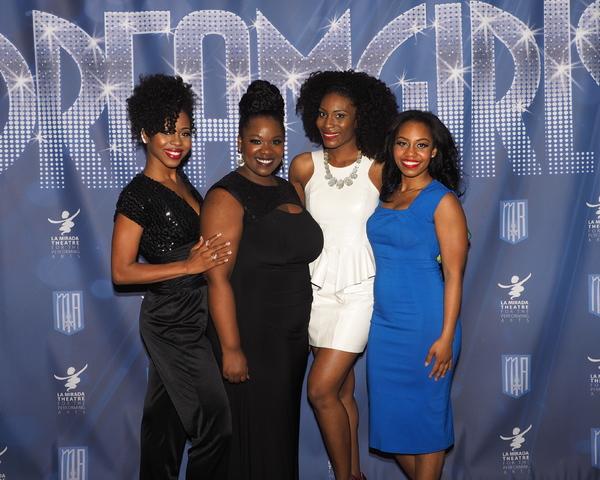 Danielle Truitt, Moya Angela, Jasmin Richardson, and Brittney Johnson