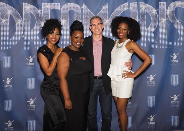 Danielle Truitt, Moya Angela, and Jasmin Richardson with /Robert Longbottom