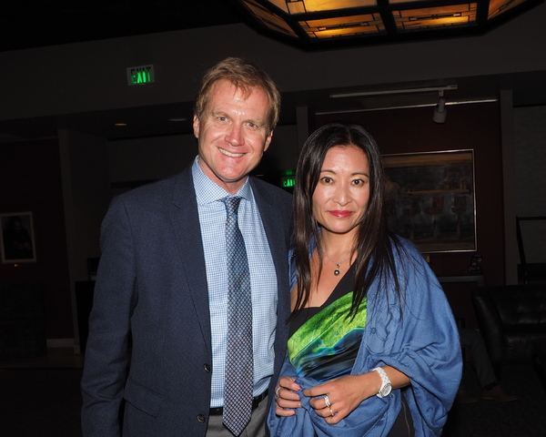 Tom McCoy and Kumiko Yoshii Photo