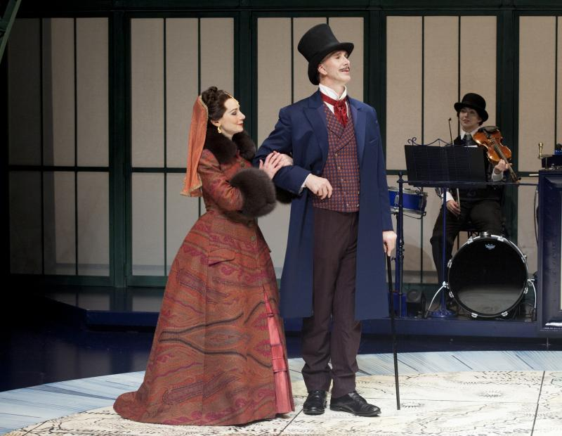 BWW Review: AROUND THE WORLD IN 80 DAYS Charms the Crowd at The Alley