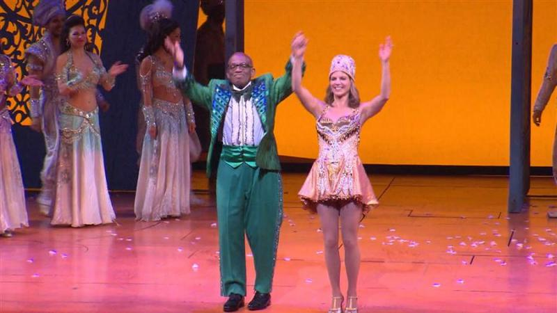 VIDEO: 'Today's Al Roker & Natalie Morales Cameo in Broadway's ALADDIN