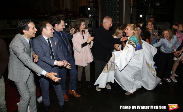 Sarah Jane Shanks with Josh Rhodes, Edie Brickell and Walter Bobbie