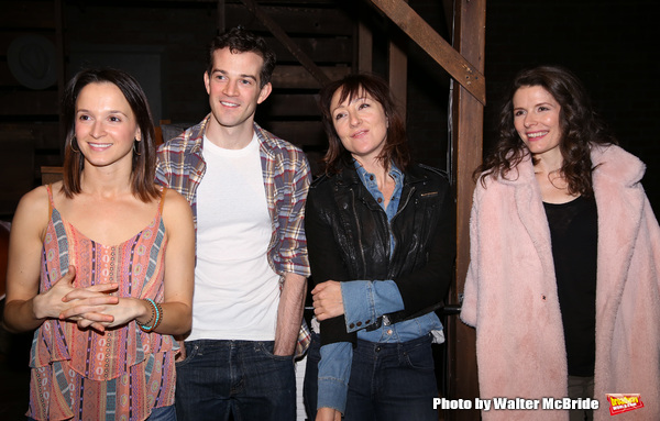 Emily Padgett, A.J. Shively, Carmen Cusack and Edie Brickell