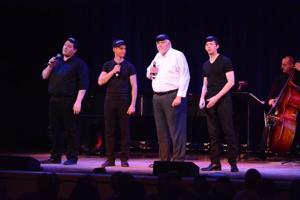 Ryan Scoble, Luke Hawkins, Jim Brochi and Josh Grisetti