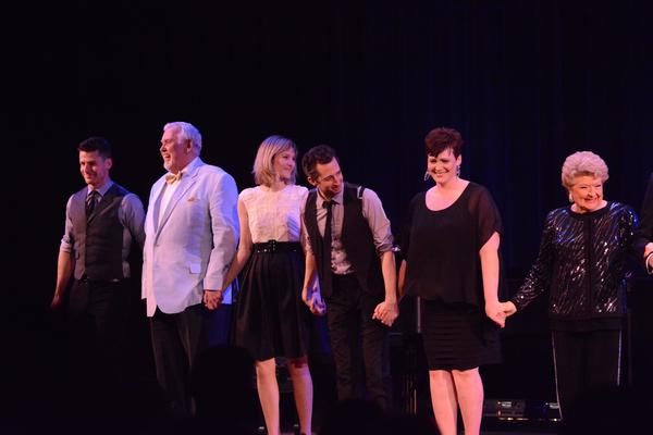 Luke Hawkins, Jim Brochu, Jill Paice, Josh Grisetti, Lisa Howard and Marilyn Maye Photo