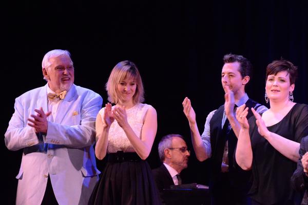 Jim Brochu, Jill Paice, Josh Grisetti and Lisa Howard Photo