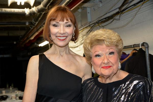 Karen Akers and Marilyn Maye
