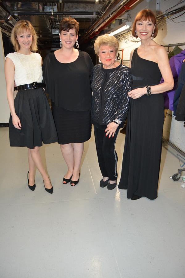 Jill Paice, Lisa Howard, Marilyn Maye and Karen Akers