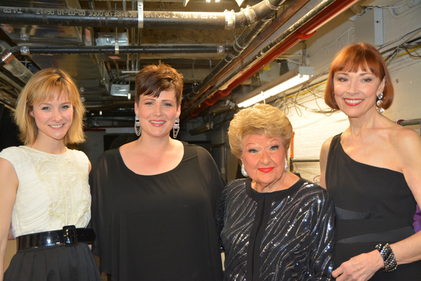 Jill Paice, Lisa Howard, Marilyn Maye and Karen Akers