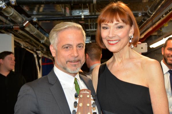 Sean Harkness and Karen Akers