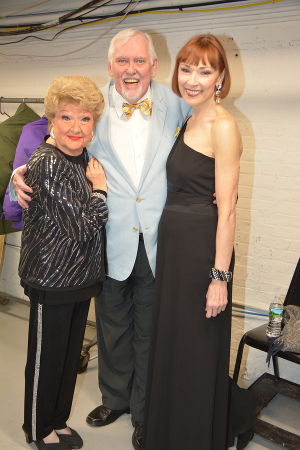 Marilyn Maye, Jim Brochu and Karen Akers
