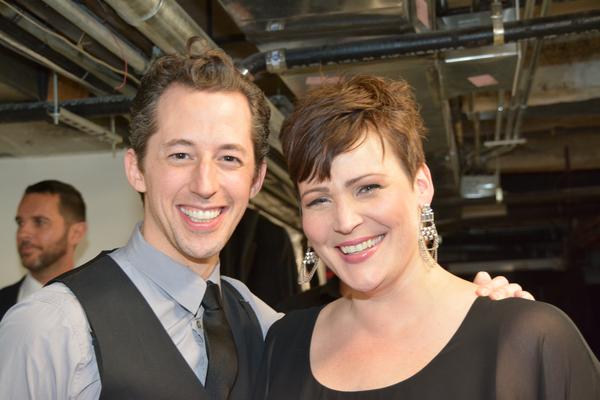 Josh Grisetti and Lisa Howard