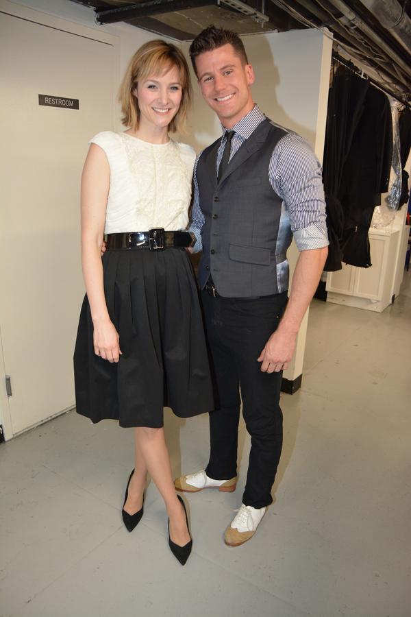 Jill Paice and Luke Hawkins