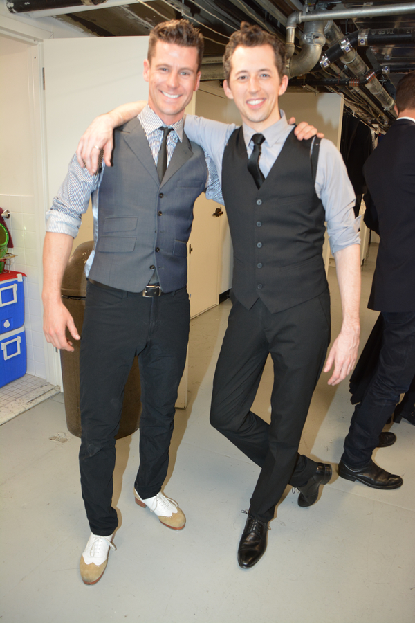 Luke Hawkins and Josh Grisetti