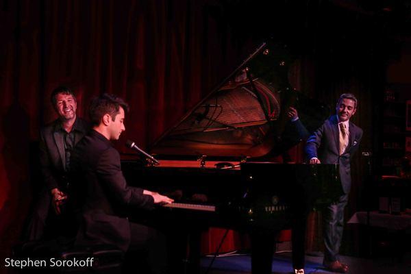 Brad Simmons, Matt Baker, Eric Yves Garcia