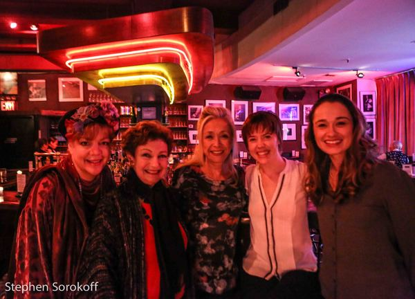 KT Sullivan, Ruth Leon, Eda Sorokoff, Carole J. Bufford, Lianne Morie Dobbs