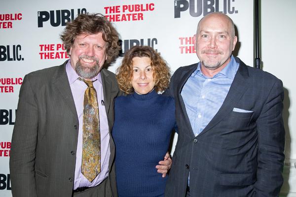 Oskar Eustis, Arielle Tepper Madover, Patrick Willingham Photo