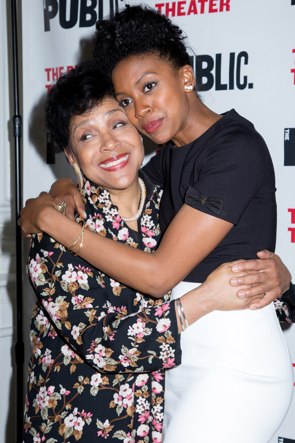Photo Coverage: Phylicia Rashad & More Celebrate Opening Night of Public Theater's HEAD OF PASSES