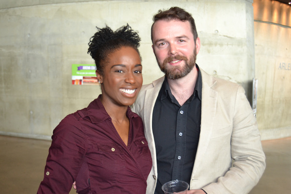 Felicia Curry (Jory) and Joe Isenberg (Isaac)