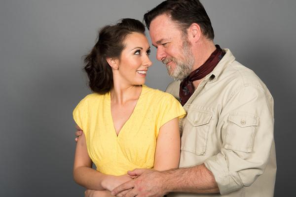 Marissa Ryder and John Carroll