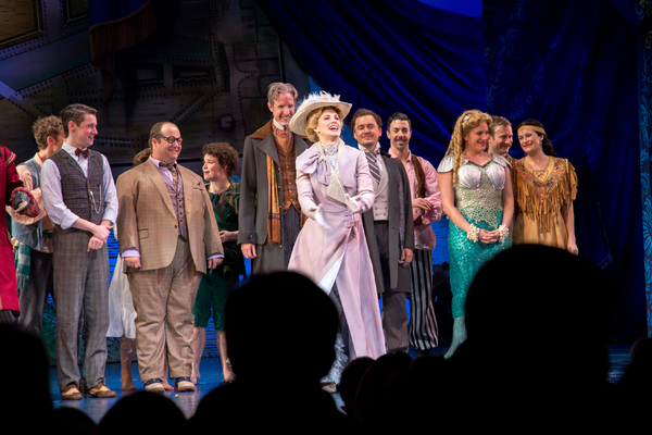 Teal Wicks and the cast of FINDING NEVERLAND