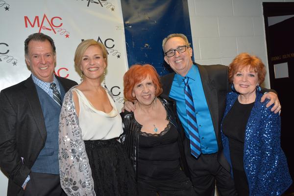 Eric Michael Gillett, Karen Mason, Maryann Lopinto, David Friedman and Anita Gillette Photo