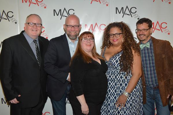 Lennie Watts, Scott Coulter, Karen Mack, Natalie Douglas and Michael Holland