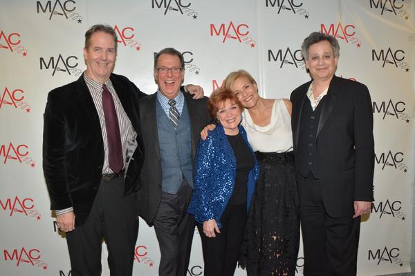 Christopher Denny, Eric Michael Gillett, Anita Gillette, Karen Mason and Sidney Myer