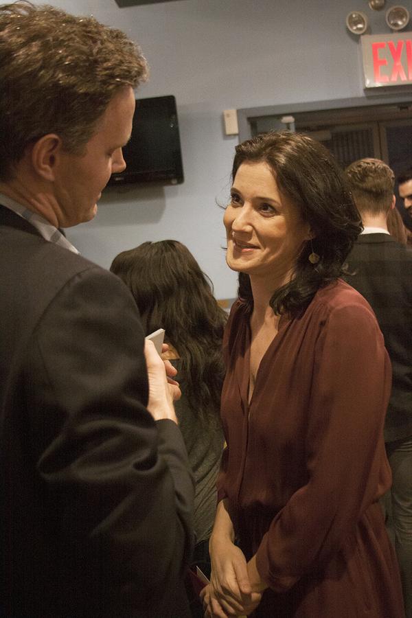 Davis McCallum (), Bianca Amato (Actor) Photo