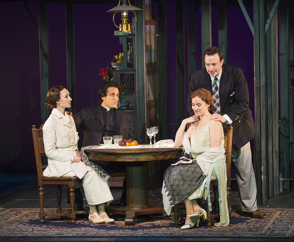 Elizabeth A. Davis as Anna Davidson, Jared Zirilli as Alfred Davidson, Betsy Morgan as Louisa MacPhail, and Tally Sessions as Alec MacPhail