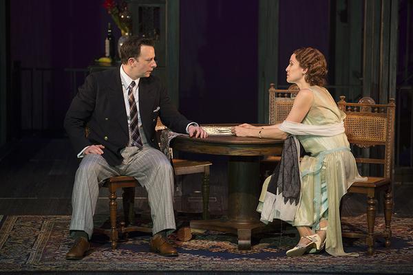 Tally Sessions as Alec MacPhail and Betsy Morgan as Louisa MacPhail