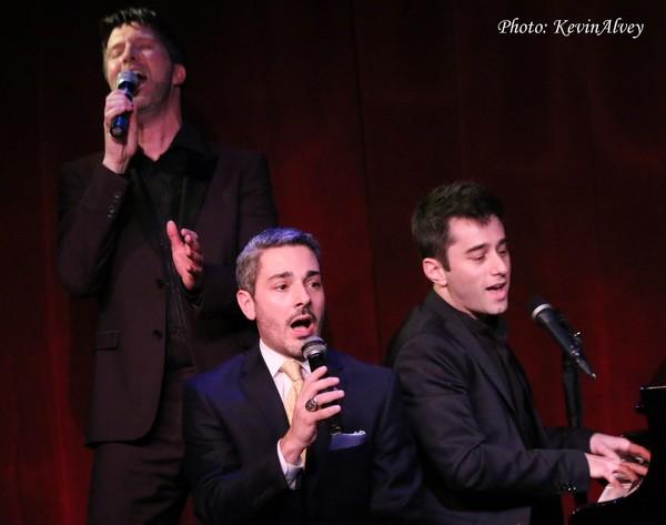Brad Simmons, Eric Yves Garcia and Matt Baker