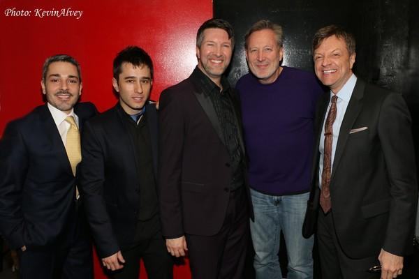 Eric Yves Garcia, Matt Baker, Brad Simmons, John McDaniel and Jim Caruso
