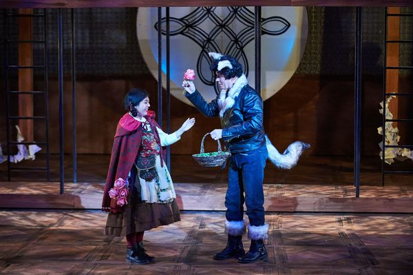 Photo Flash: First Look at INTO THE WOODS at Aurora Theatre Company
