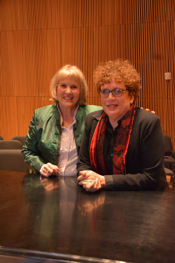 Elisabeth Von Trapp and Judith Clurman Photo