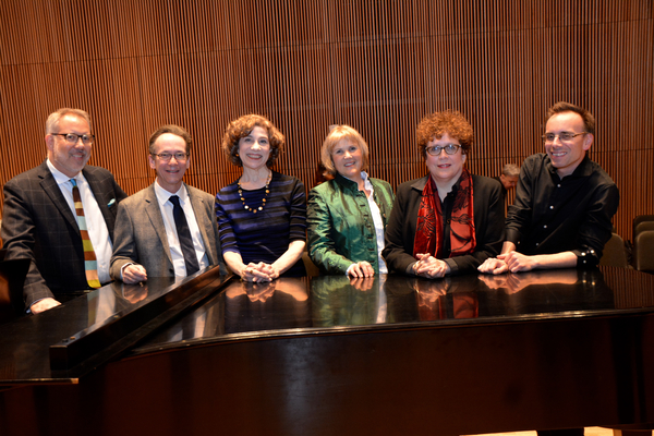 David Chase, Larry Hochman, Naomi Lewin, Elisabeth Von Trapp, Judith Clurman and Tedd Firth