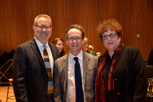 David Chase, Larry Hochman and Judith Clurman