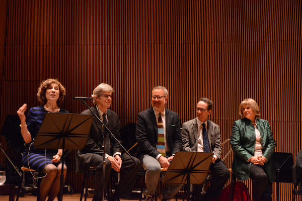 Naomi Lewin, Ted Chapin, David Chase, Larry Hochman and Elisabeth Von Trapp