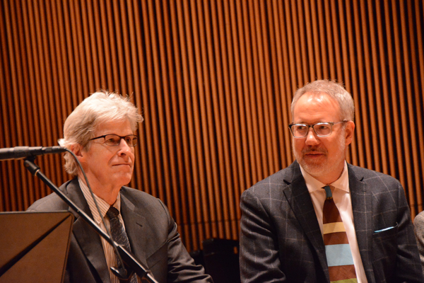 Ted Chapin and David Chase