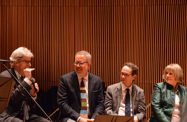 Ted Chapin, David Chase, Larry Hochman and Elisabeth Von Trapp
